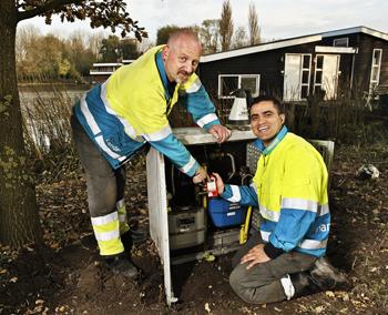 Alliander is een landelijk netwerkbedrijf voor de stroomvoorziening voor Elektra en Gas