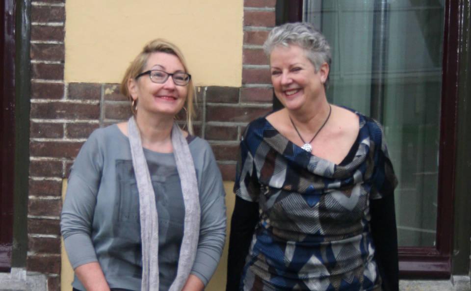 Bernadette Voorendt (Biga Groep) en Hetty Loeb (KNMI).