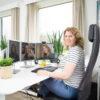 Thuiswerken is een kans voor mensen met een aandoening